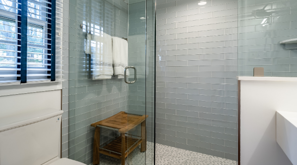 replace the shower tile
